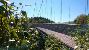 Pont suspendu Coaticook