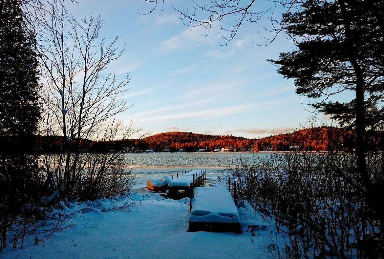 Virginie Dardenne région de Val David - Québec / Canada